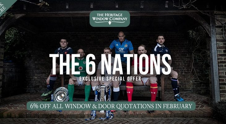 Celebrate the 6 Nations with 6% Off all Quotations in February