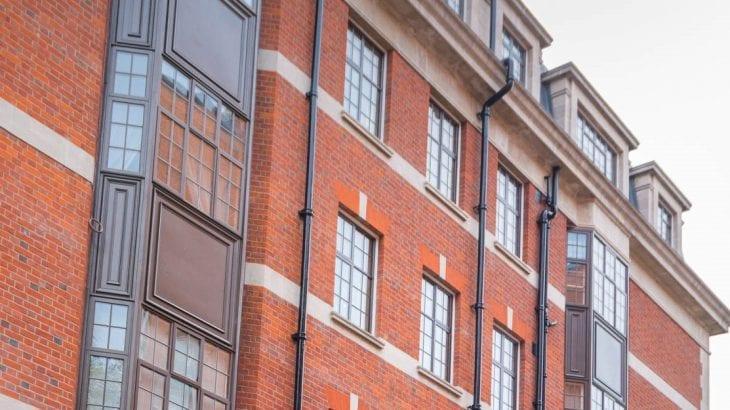New Aluminium Windows in Kensington, London